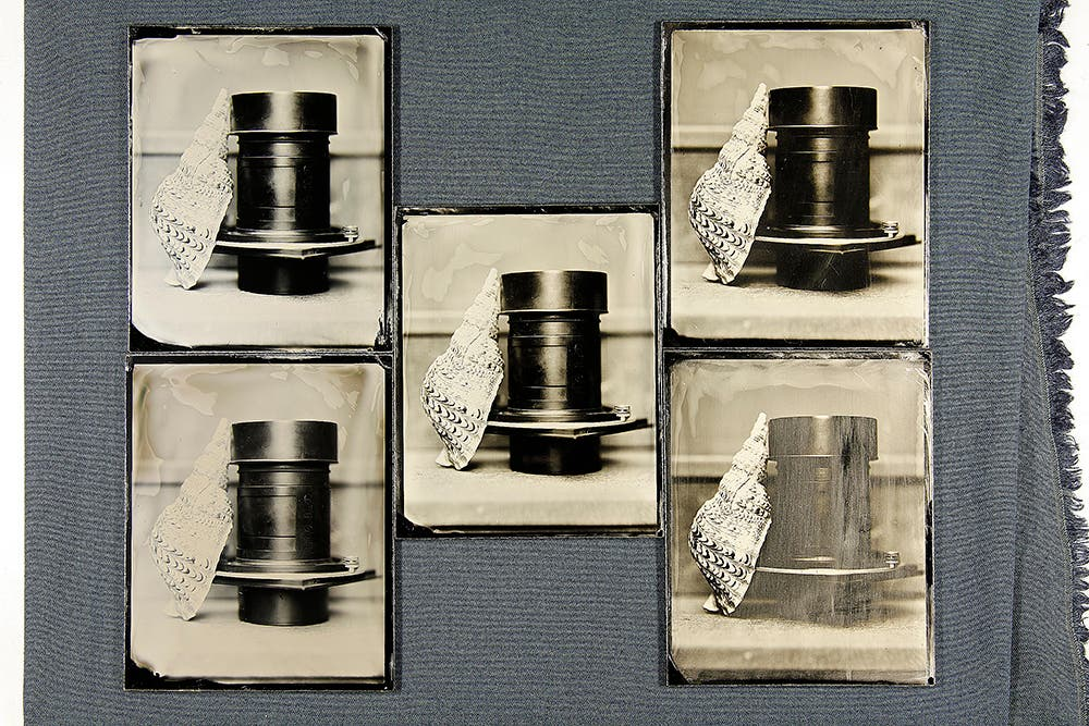 The Effects of Exposure and Development Times on Wet Plate Collodion