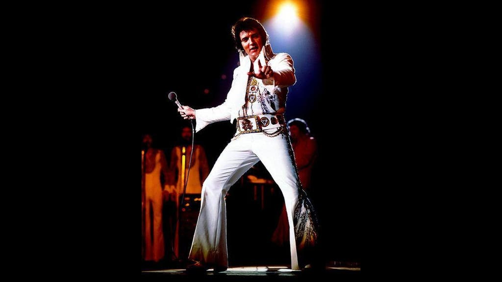"""The King"" Lives On In Adam Nicholson's Elvis 40th Anniversary Photo Exhibition"