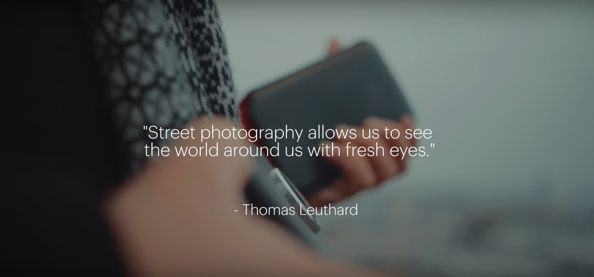 Thomas Leuthard Uses the Kodak Ektra for Street Photography