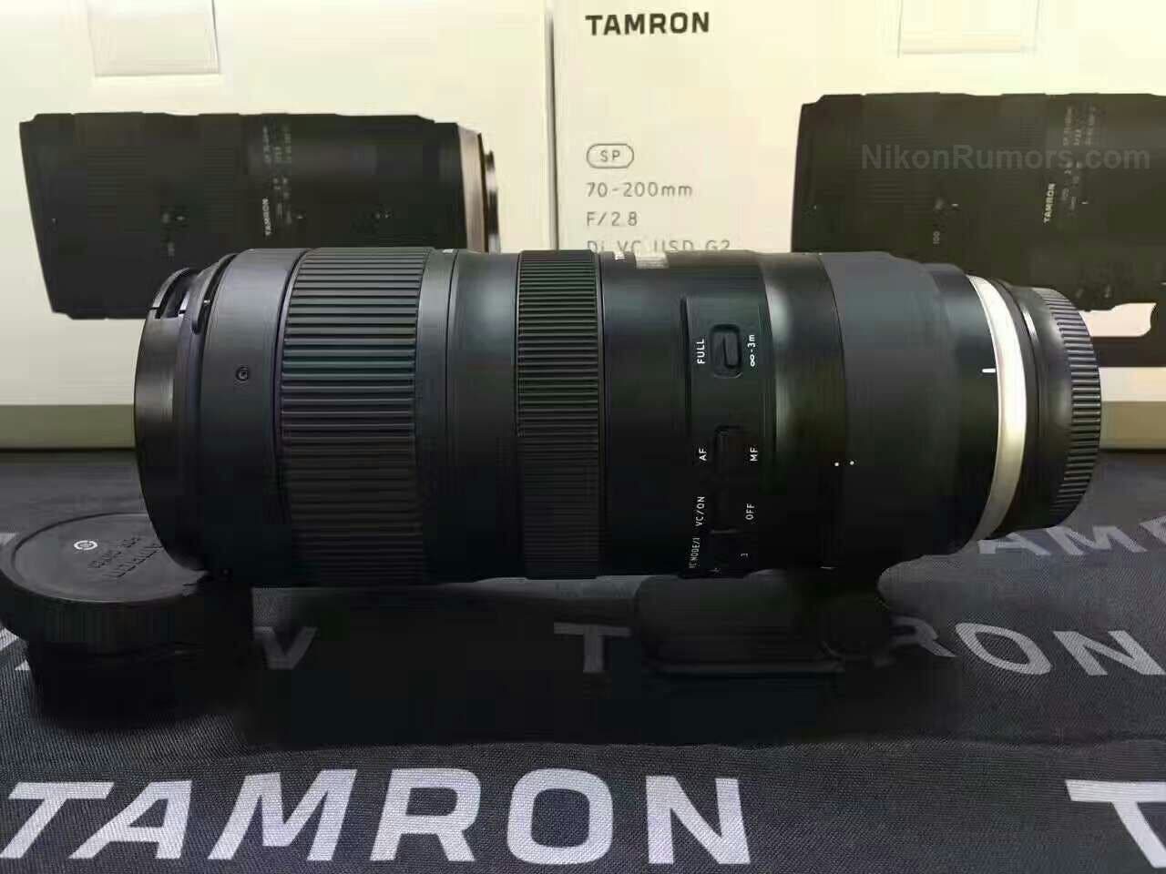 Tamron 70-200mm F2.8 Product Images Leak Ahead of CP+