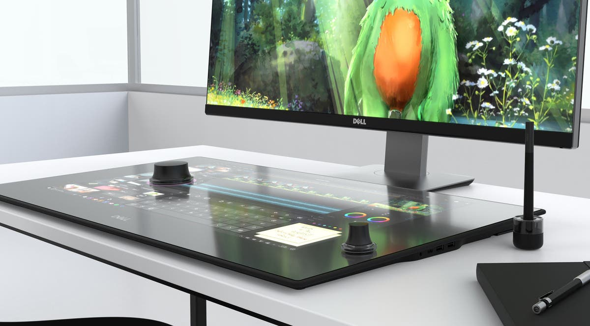 Dell's New Canvas Monitor Is Like Adding A Surface Studio To Your Existing PC