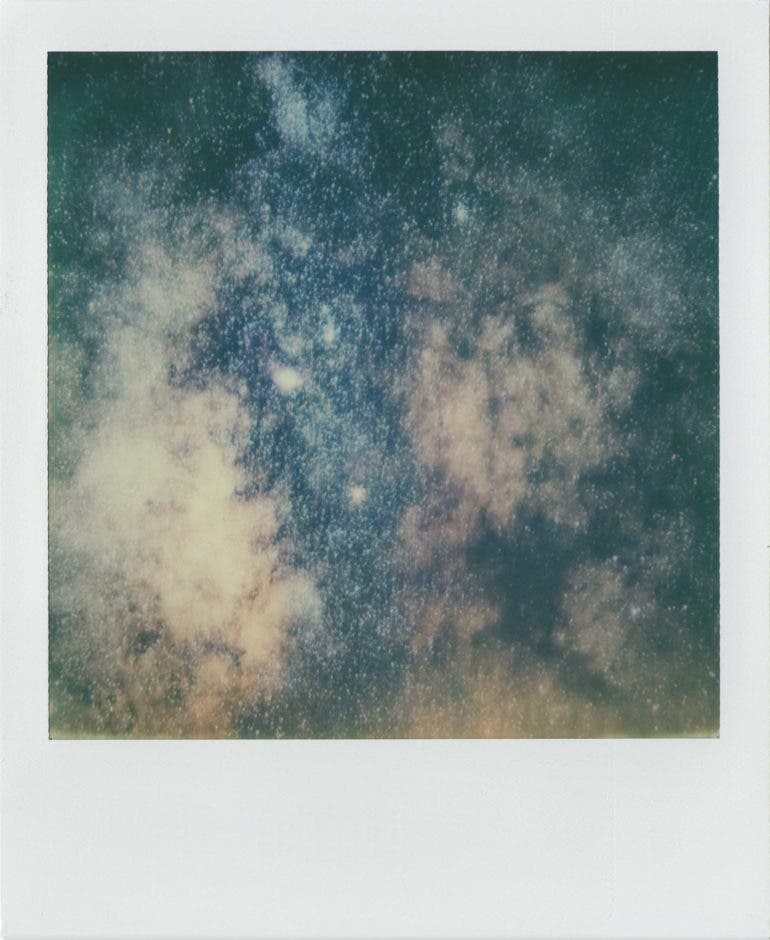 These Beautiful Images of the Milky Way Were Shot on Instant Film