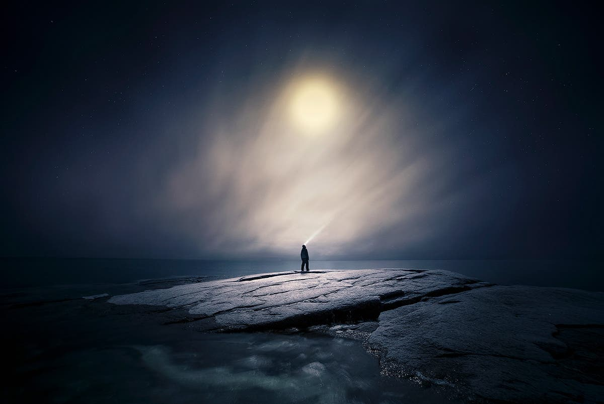 Mika Suutari Captures Breathtaking Finnish Landscapes In Moonlight