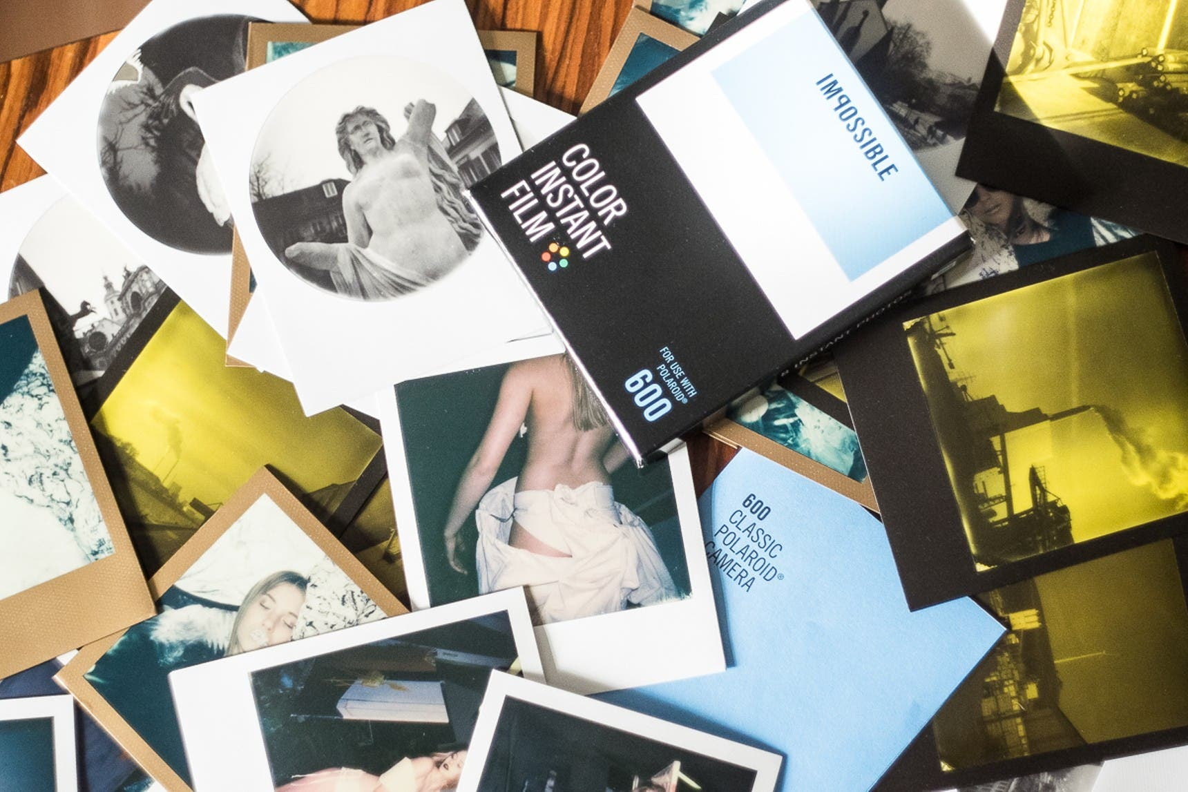 Polaroid as a Popular Medium for Fine Art Nude Photography Today (NSFW)