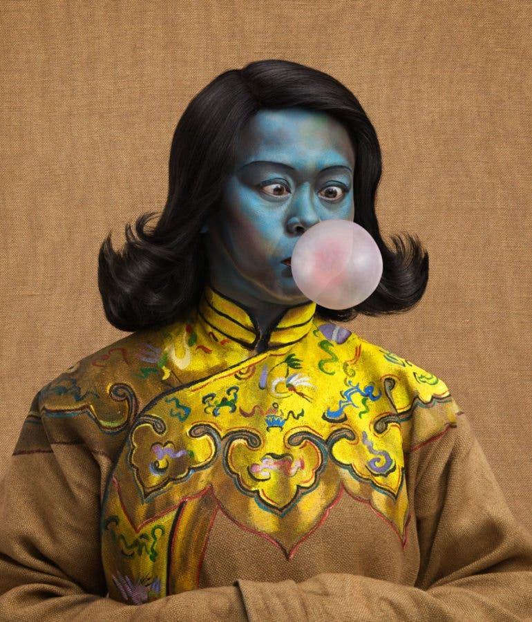 Photographer joe giacomet parodies vladimir tretchikoffs chinese joe giacomet has created a stunning series of portraits parodying the vladimir tretchikoff s famous painting titled chinese girl voltagebd Image collections