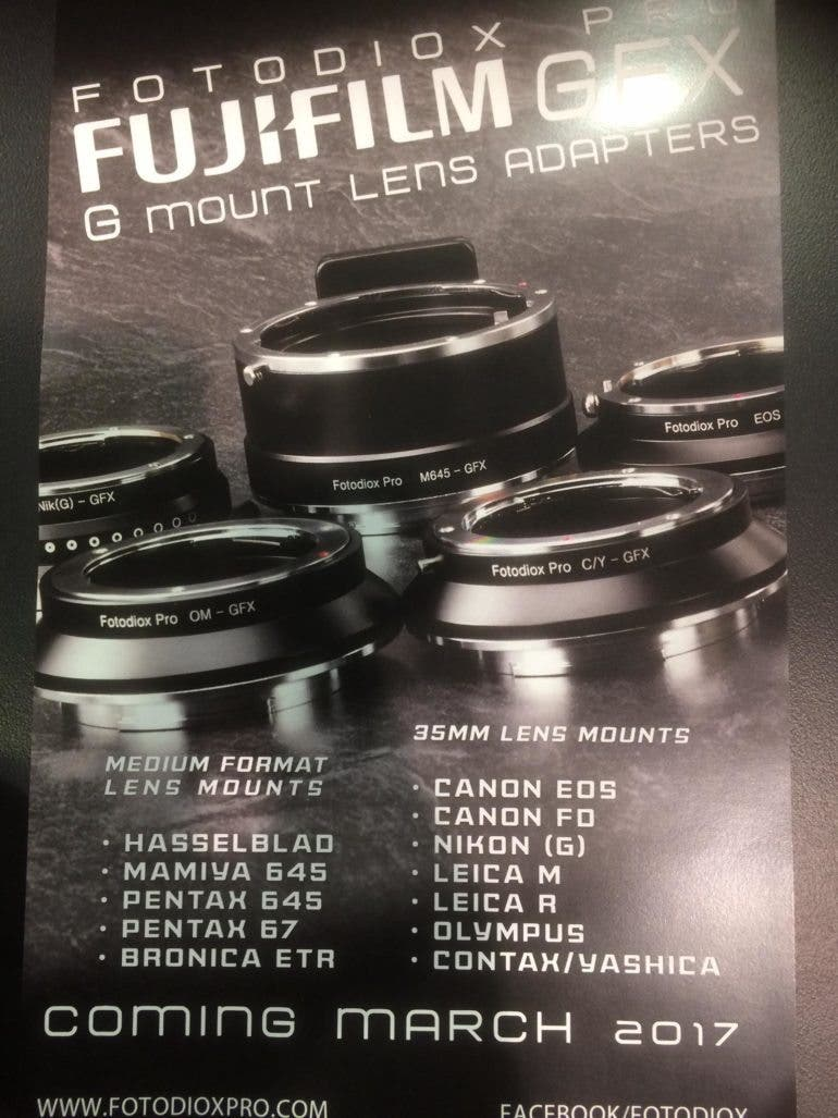 GFX Lens Adapters