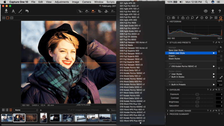 Review: Capture One Pro Film Styles (Capture One Pro 10)