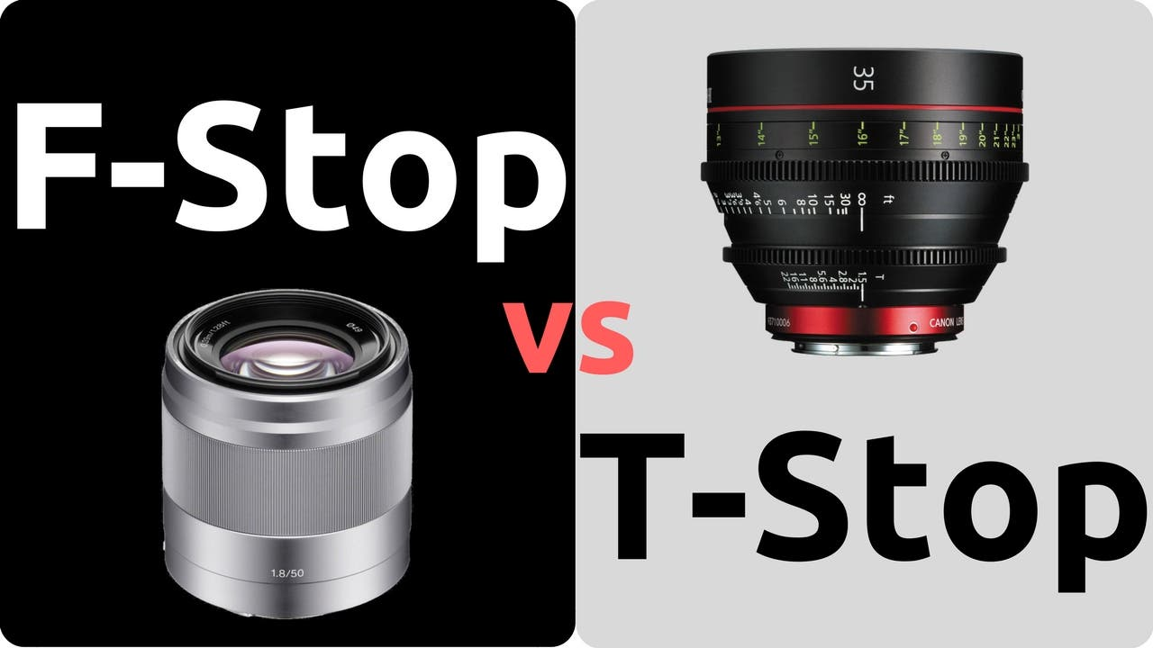 The Difference Between an F-Stop And a T-Stop in Camera Lenses