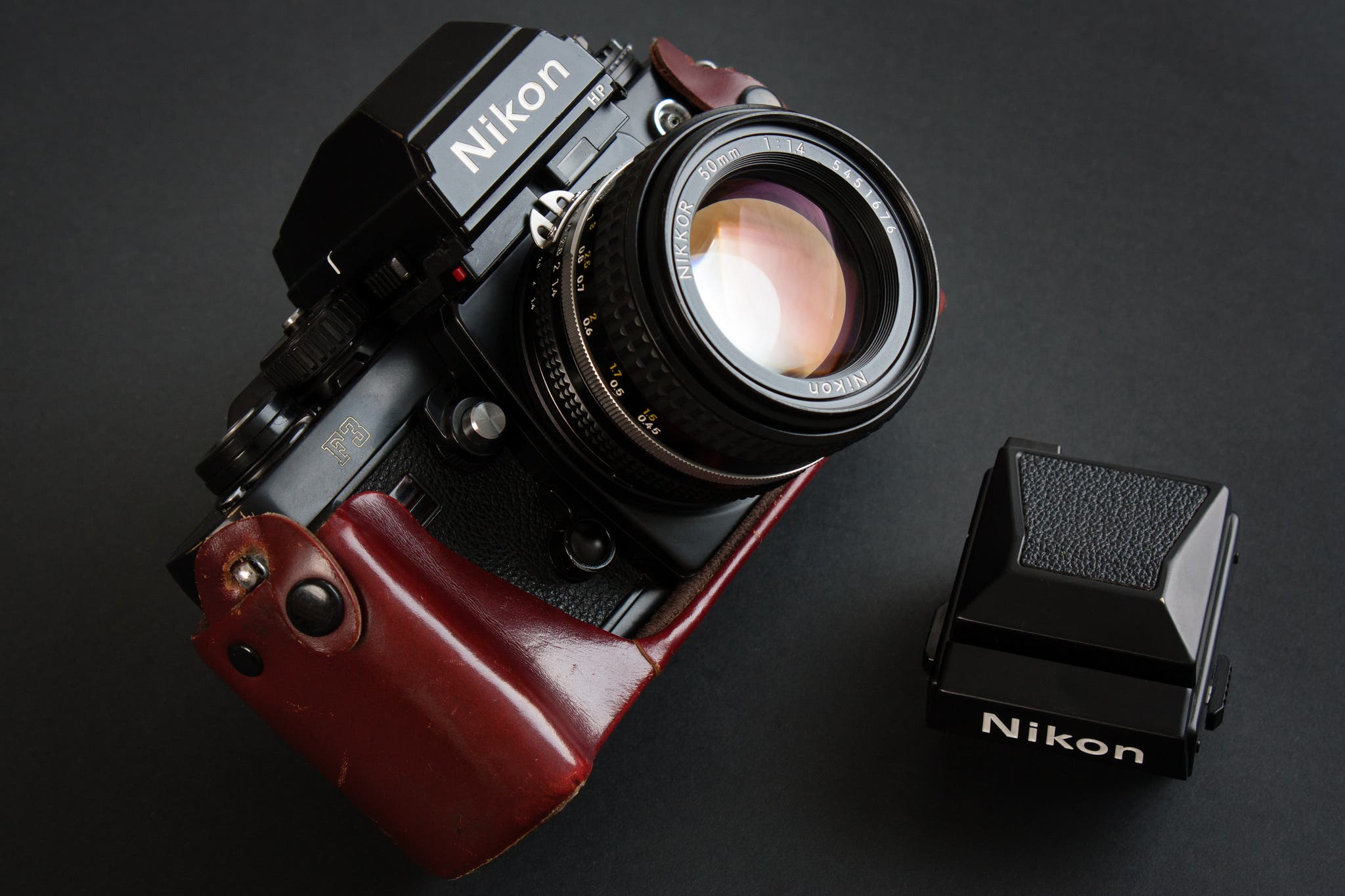 nikon announces new nikon f3 with interchangeable viewfinder