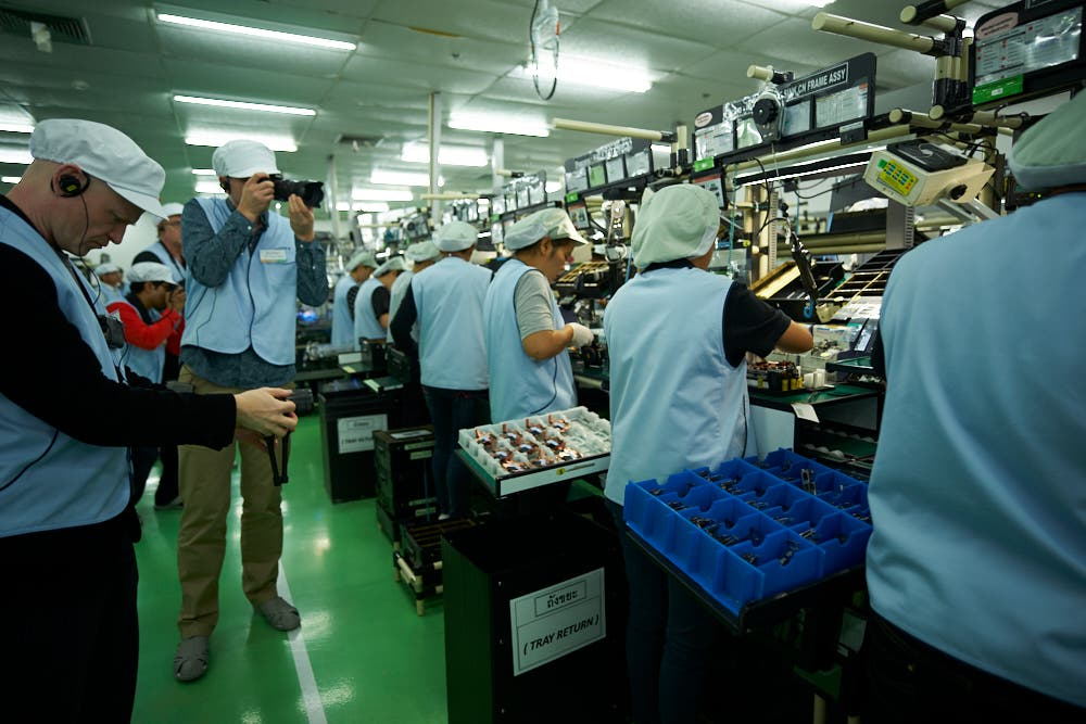Canon Mark Ii >> The Phoblographer's Tour of Sony's Camera Factory: An Inside Look at How the Sony a7r II is Made