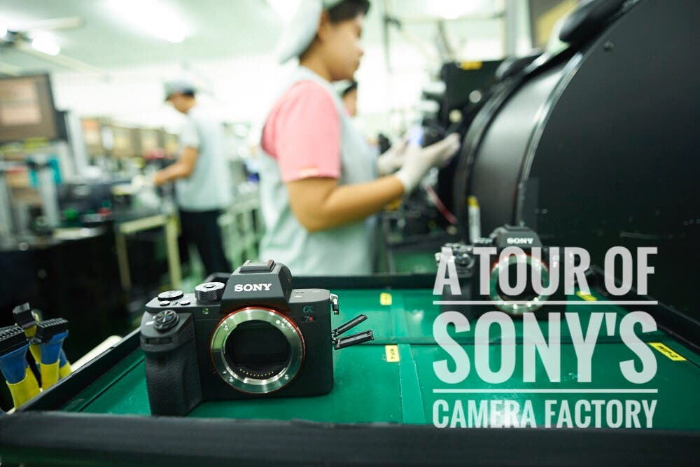The Phoblographer's Tour of Sony's Camera Factory: An Inside Look at How the Sony a7r II is Made
