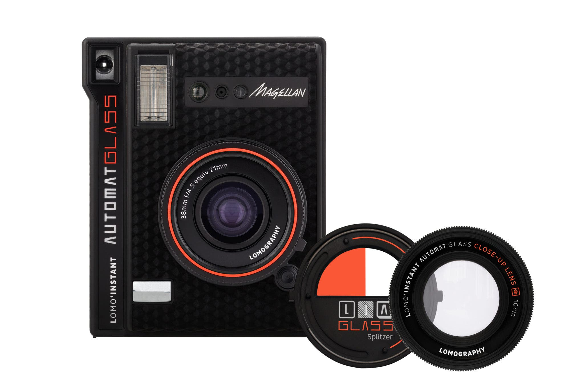 The Lomo'Instant Automat Glass Shoots Instax Film with an f4.5 Glass Lens