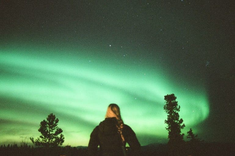 Photographer Alexander Denault Uses Film To Shoot The Northern Lights And  Landscapes