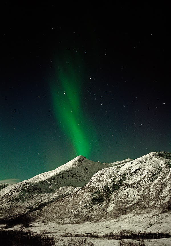 Rainer Wengel's Photos of the Aurora Borealis on Film Will Captivate You
