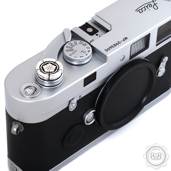 Bashert Jewelry Gives Your Leica a Sterling Silver Soft Shutter Button