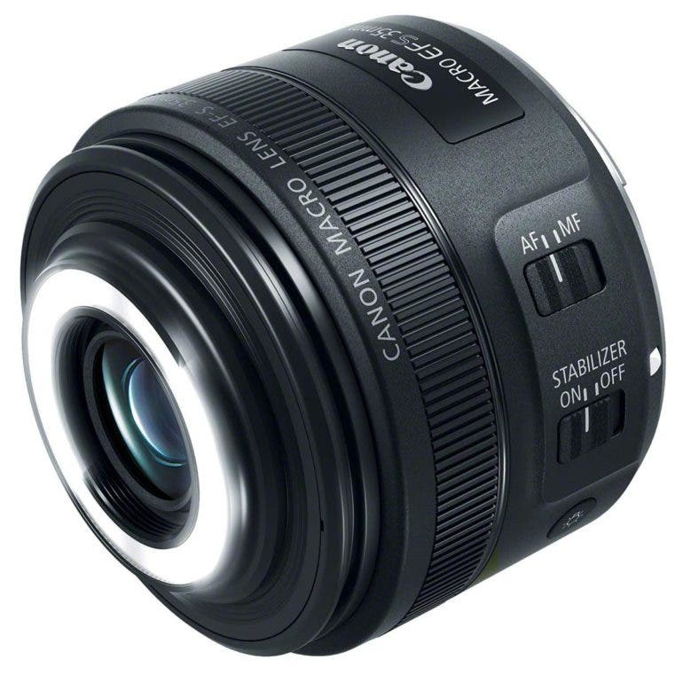 The New Canon Ef S 35mm F2 8 Macro Is Stm Has A Built In