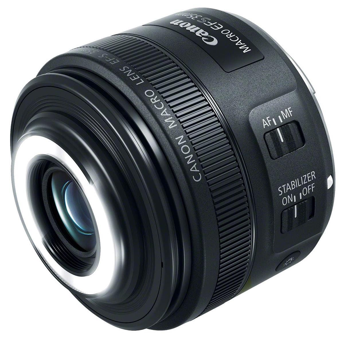 The New Canon EF-S 35mm f2.8 Macro IS STM Has a Built in Ring Light