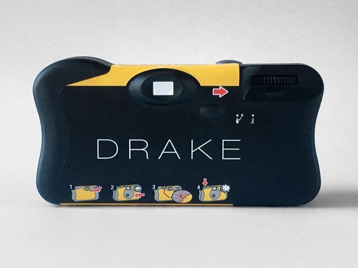 Drake Gave Away Disposable Cameras at His Concerts, And You Can Buy One for $15