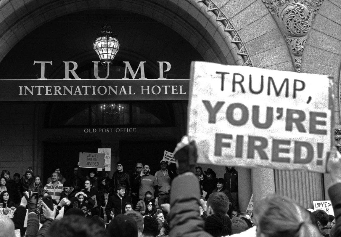 100 Days of Protests: A Kickstarter Book Campaign Highlighting Trump Protests
