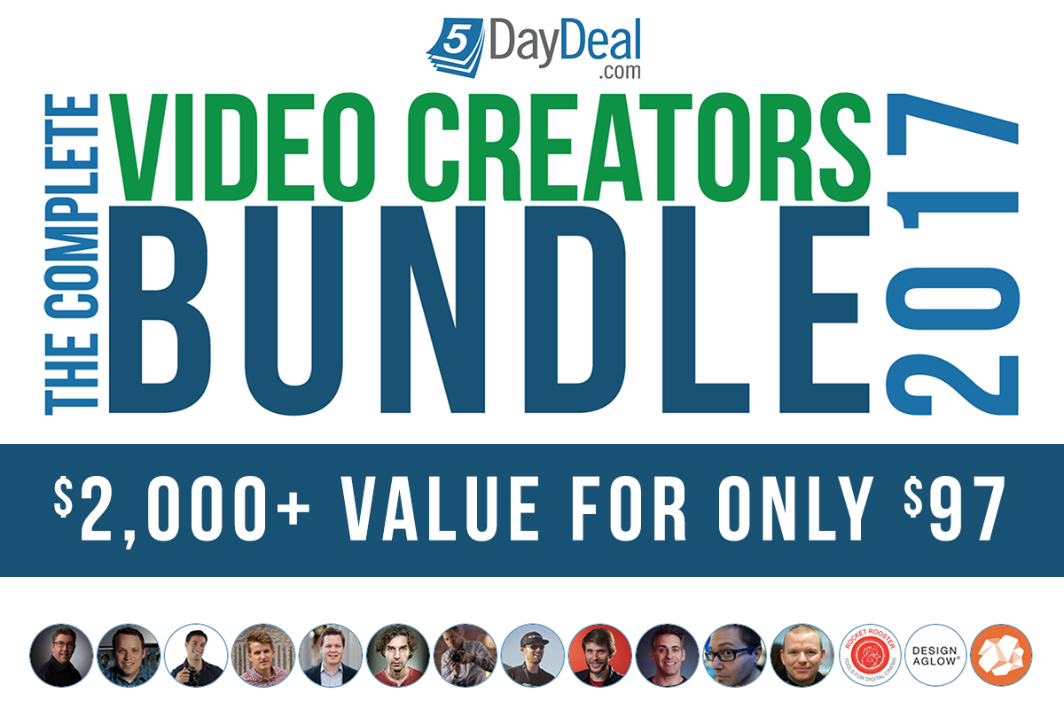 The Complete Video Creators Bundle 2017 Is Here!