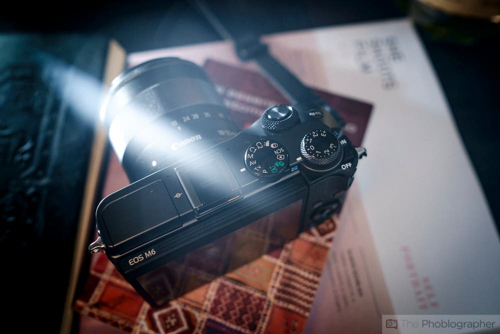 Mirrorless Camera Review: Canon EOS M6 (Canon EF-M Mount)
