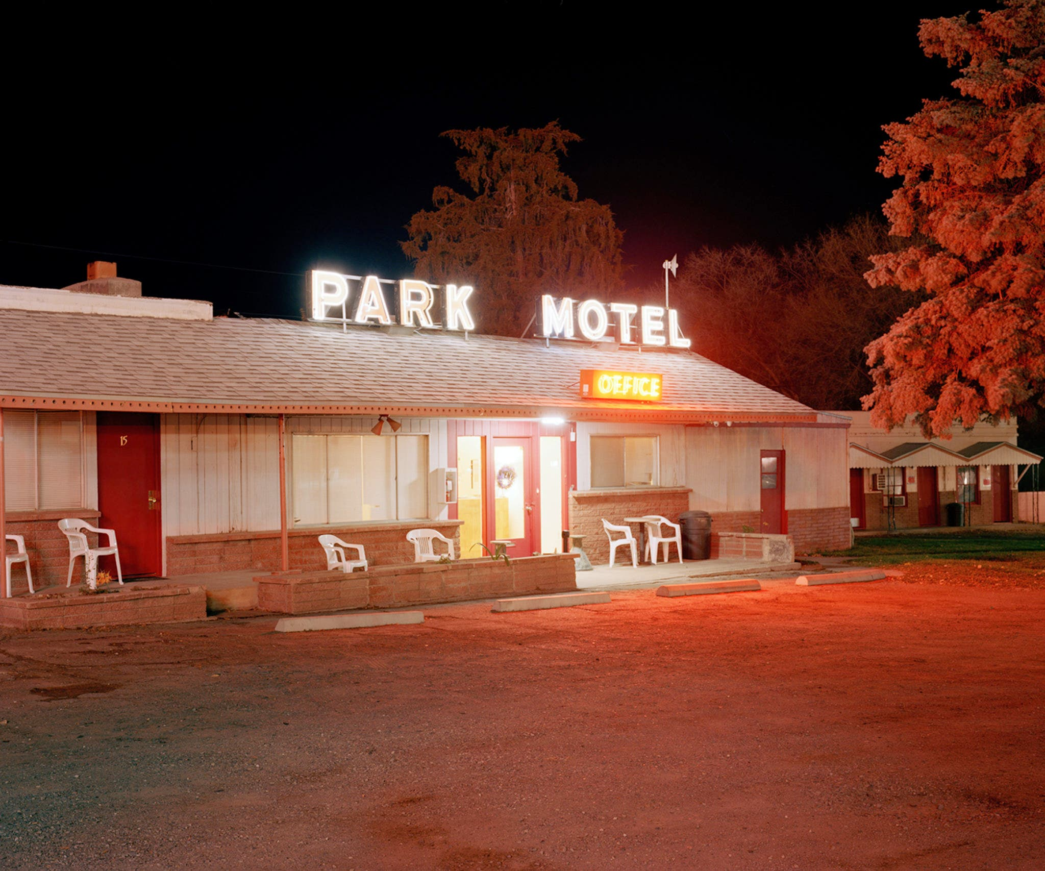 David Egan's Neon-Hued Photographs of Rural Nevada