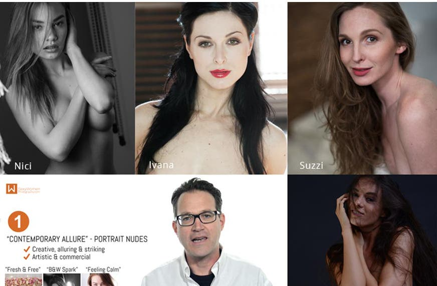 Cheap Photo: Great Deals on Nude Model Photography Webinar