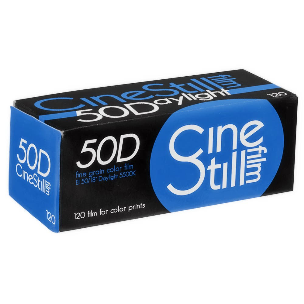 Film Emulsion Review: CineStill 50D Film (35mm and 120)