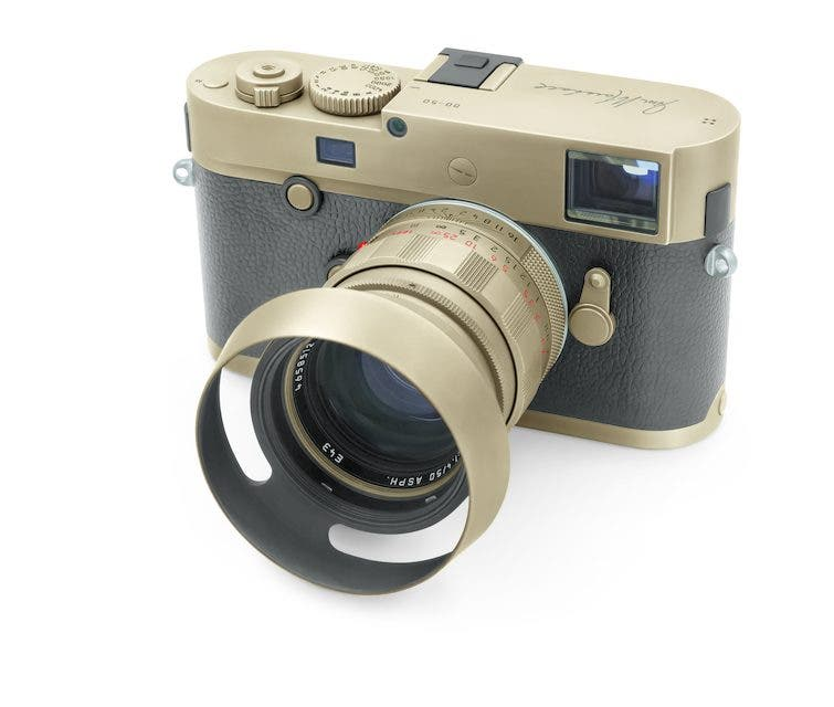The New Leica M Monochrom Limited Edition Jim Marshall Set Looks Like Someone Just Wore Away at the Brass