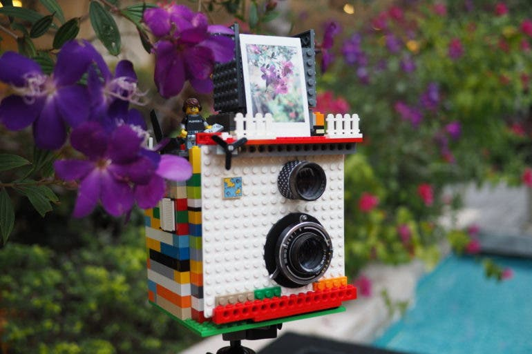 This Lego Instax Camera Has a Classic TLR Design To It