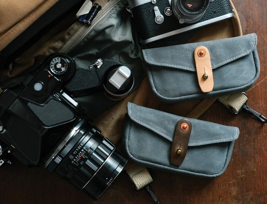 Tap and Dye Releases the LEGACY Shooters Film Pouch for the Analog Photographer