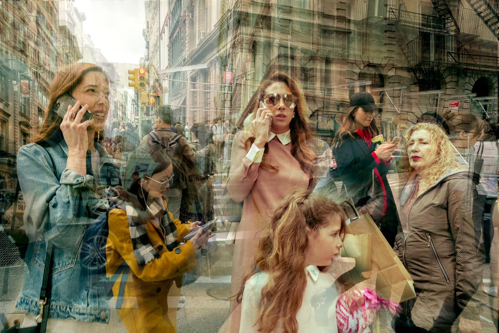 Christian Stoll's A New York Split Second Perfectly Exhibits the Chaos of the City