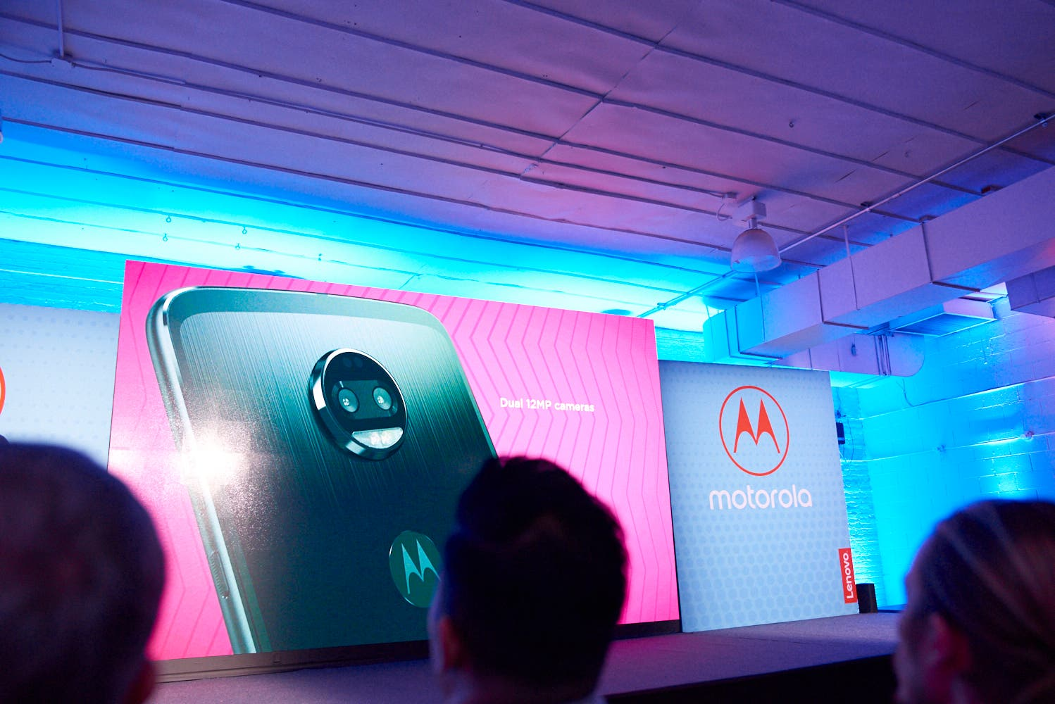 The New Motorola Moto Z Force Sports Dual Rear Cameras, One Black and White