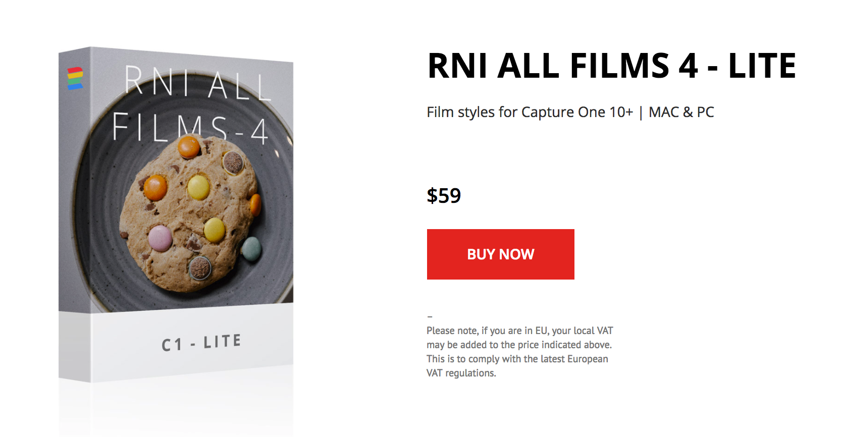 Rejoice! RNI All Films 4 Lite Finally Comes to Capture One