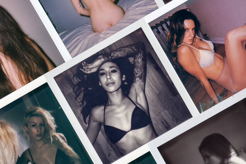 Instants: An 80-page Nude Photo Book Made of Impossible Film (NSFW)