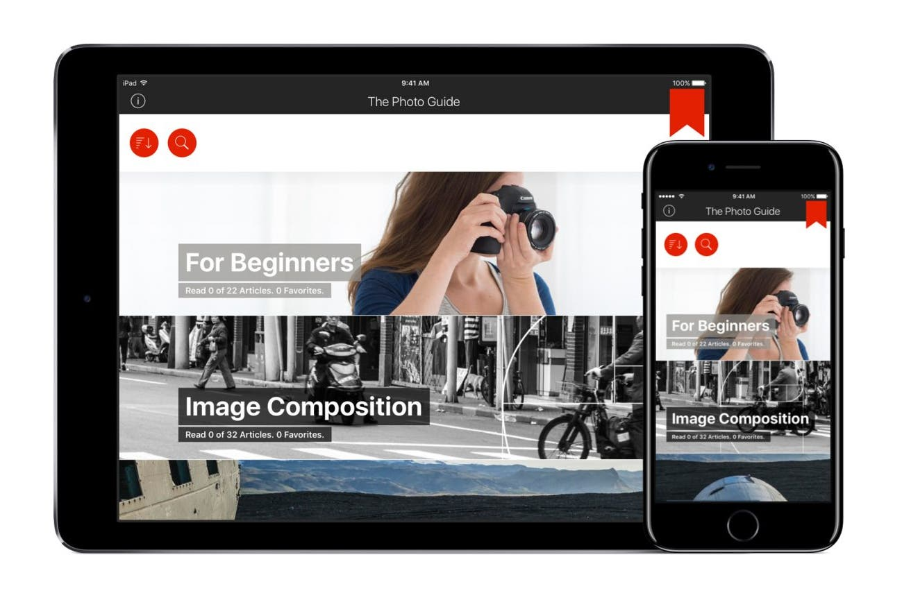 The Photo Guide: App Based Photography Learning For Our Generation