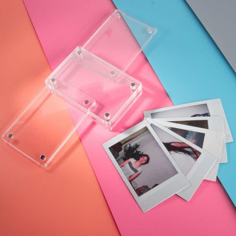 Display Your Instax Photos With Caiul Clear Acrylic Photo