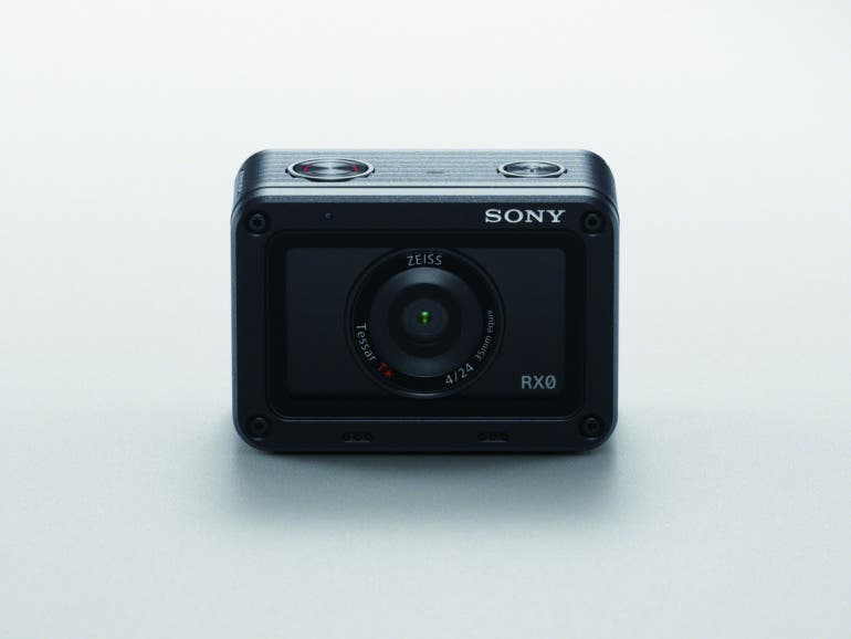 The Weather Sealed Sony RX0 has 15.3MP 1 Inch Sensor, 24mm f4 Lens