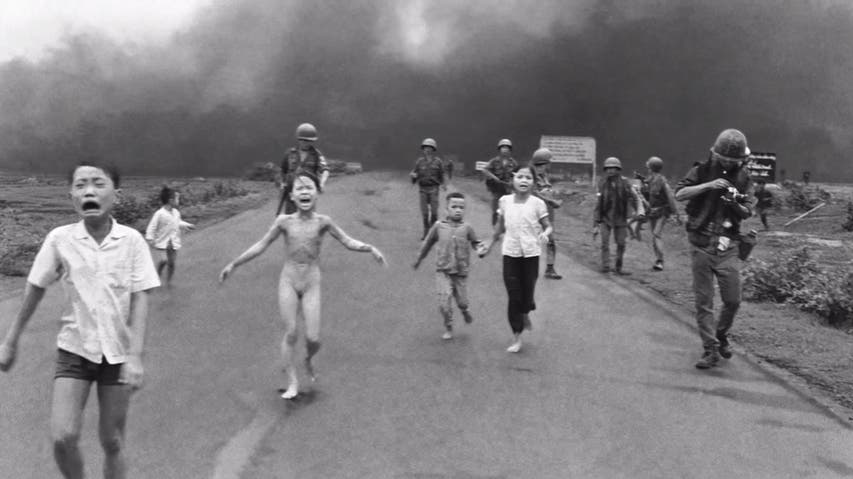 Video: Nick Ut's Napalm Girl and the Controversy of War Photography