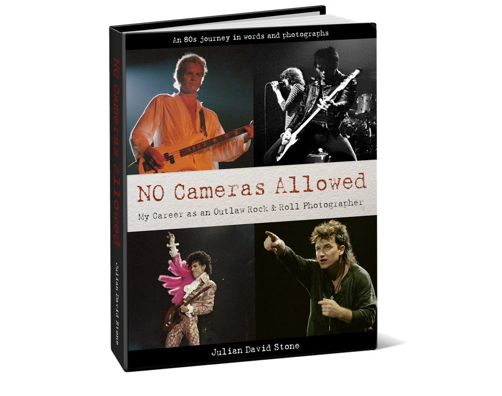 """No Cameras Allowed"" to Showcase Unseen Rock Concert Photographs from the 80's"