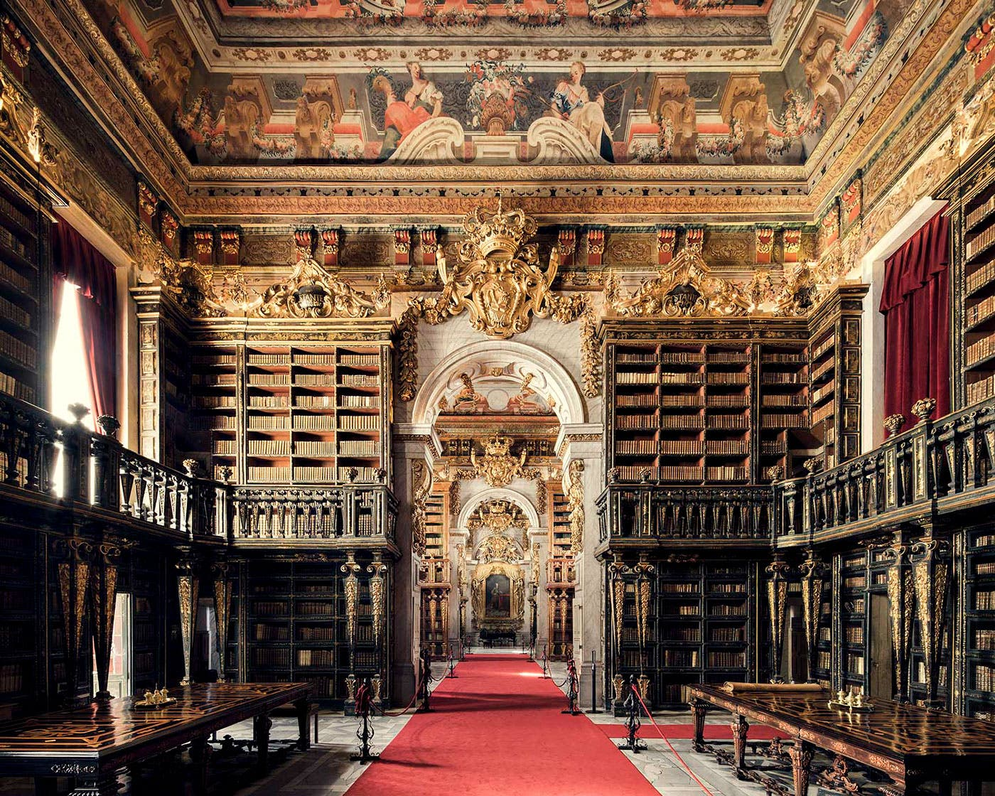 Thibaud Poirier Showcases the Stunning Beauty of Europe's Libraries