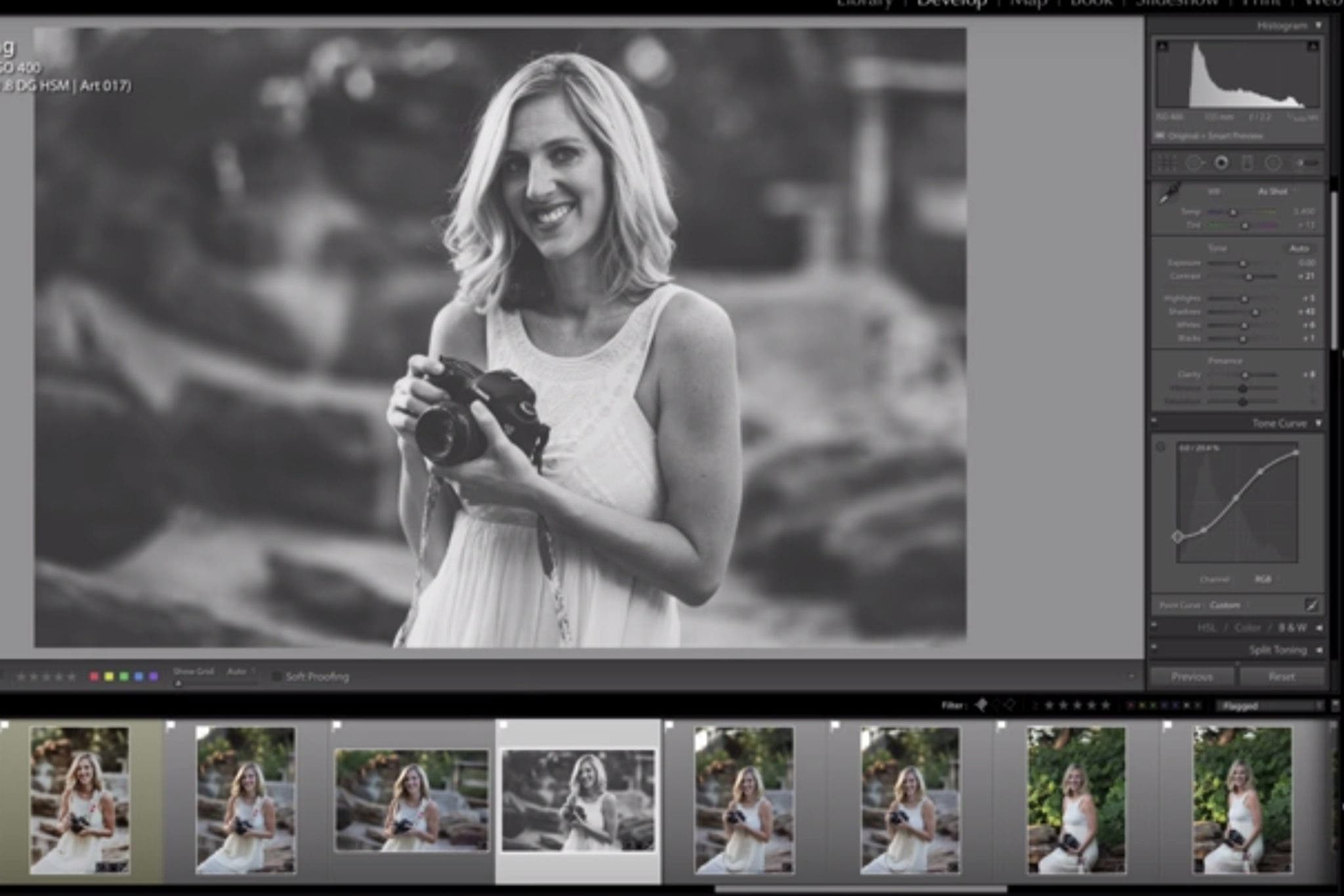 Adding or Subtracting A Matte Look In Lightroom