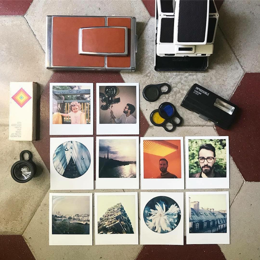 The Mint Camera SLR670-S Classic Uses Both ISO 100 and 600 Polaroid Film Formats