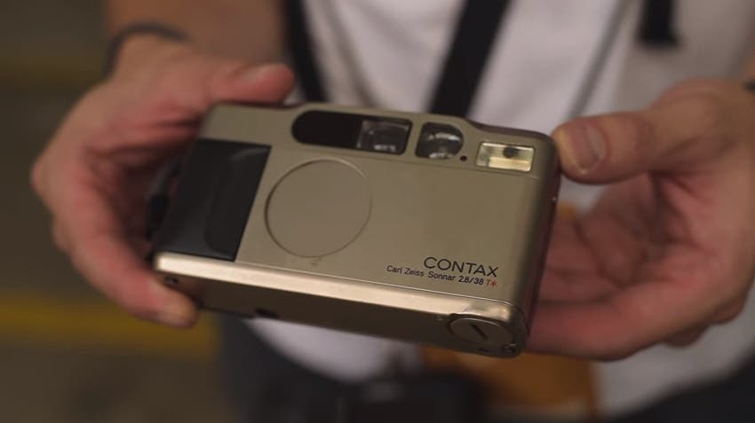 Contax T2: The World's Trendiest Compact Camera?