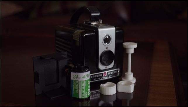 The Hawkeye35 Adapter Will Let You Shoot 35mm Films with the Kodak Brownie Hawkeye