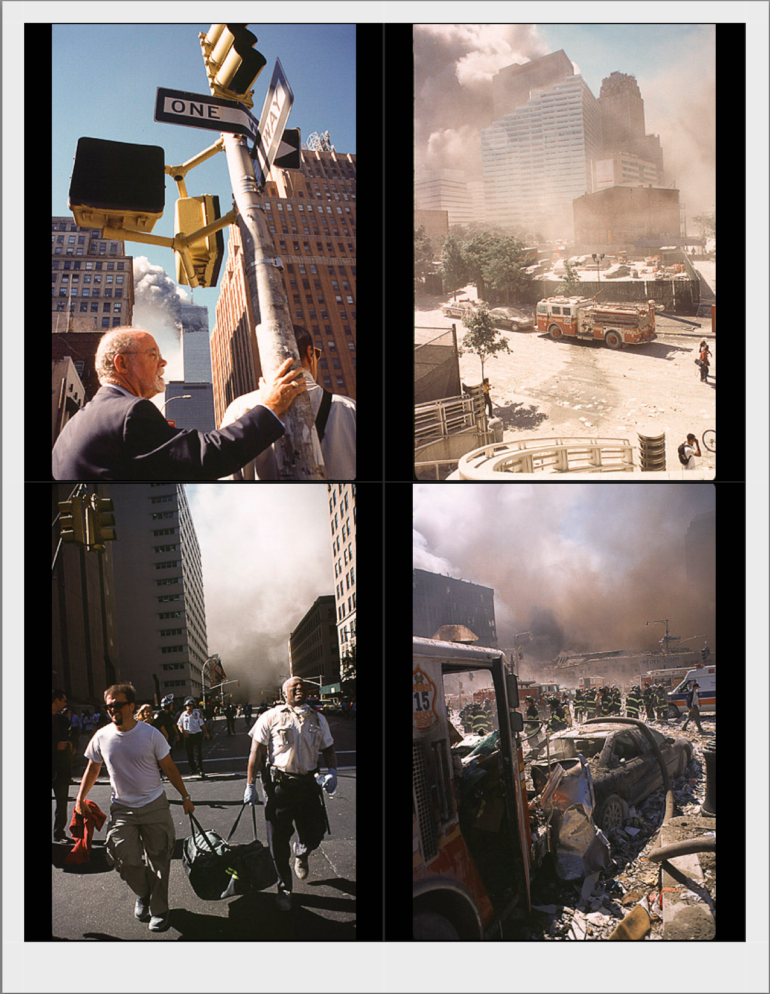 Michel Leroy: A Photojournalist's Perspective of 9/11