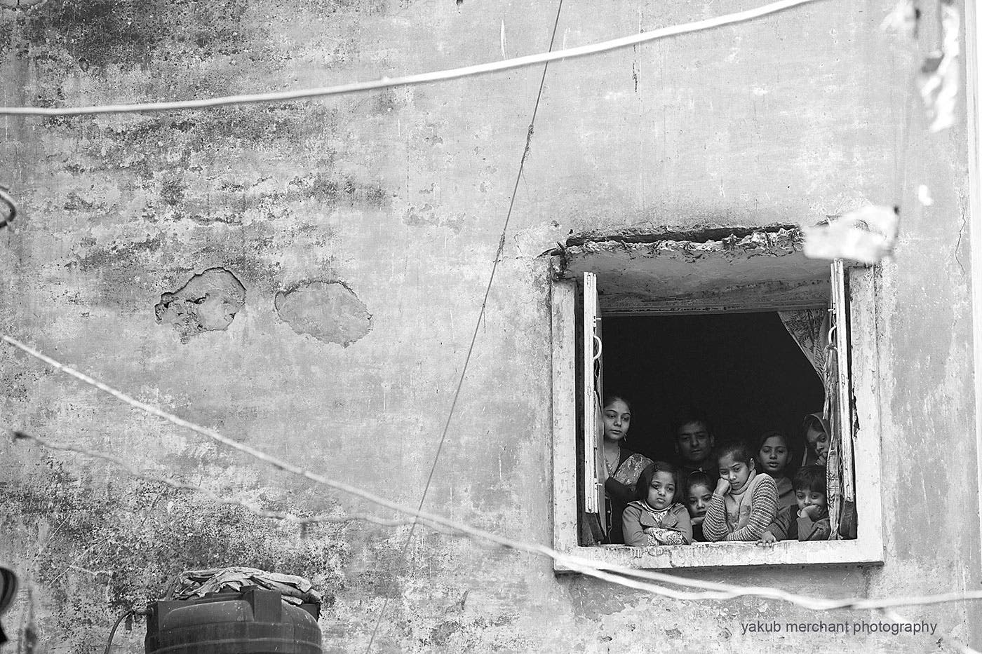 Yakub Merchant's Street Photography Emphasizes People Through Their Windows