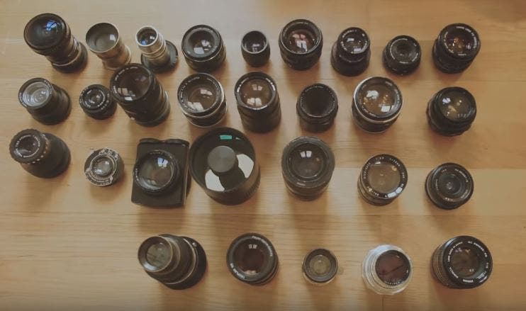 Attention: You Could Be Shooting with Radioactive Lenses