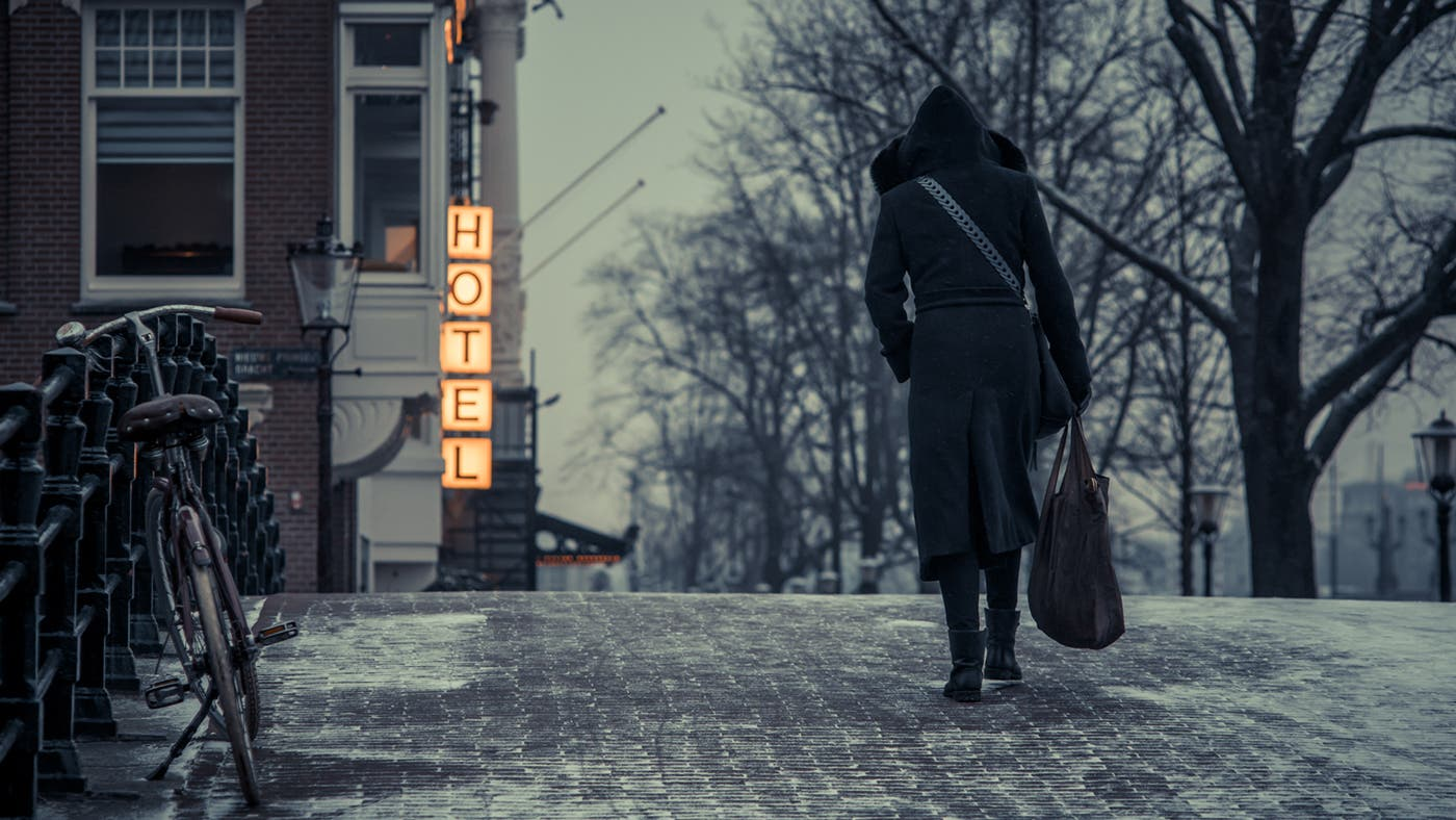 Stijn Hoekstra Takes Us Around a Cinematic Amsterdam in Winter