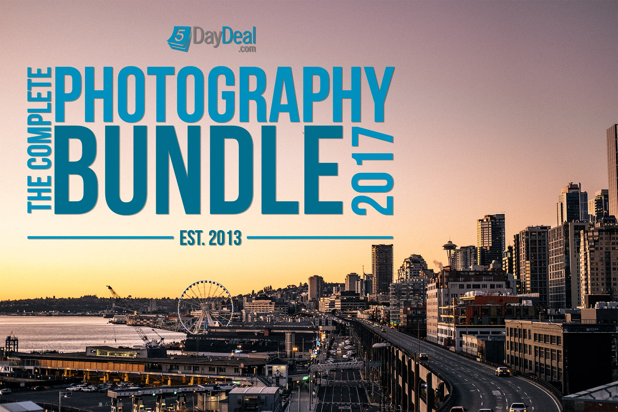 5DayDeal 2017 Complete Photography Bundle Is Here!